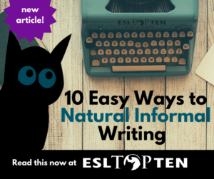 10-easy-ways-to-informal-writing